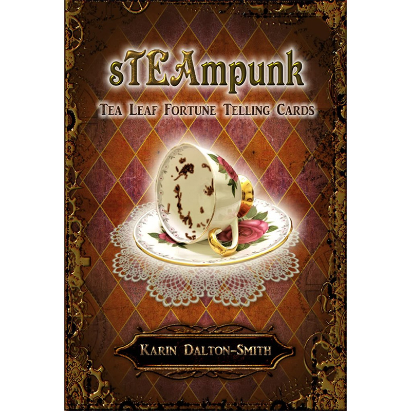 Steampunk Tea Leaf Fortune Telling Cards 23