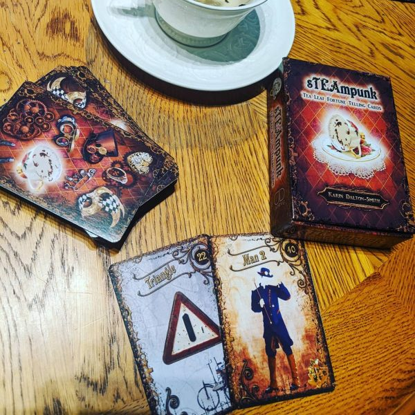 Steampunk Tea Leaf Fortune Telling Cards 12