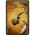 Steampunk Tea Leaf Fortune Telling Cards 2