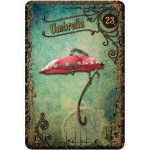 Steampunk Tea Leaf Fortune Telling Cards 6