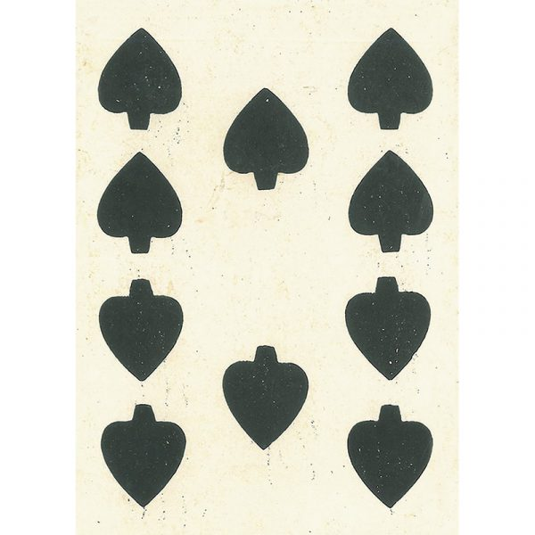 1858 Samuel Hart Poker Deck 2
