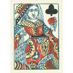 1858 Samuel Hart Poker Deck 5