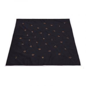 Khăn Trải Bài Tarot Horoscope Obsidian (Kèm Túi Đựng) 2
