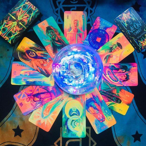 Neon Tarot 14