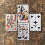 Playing Marseille Tarot 12