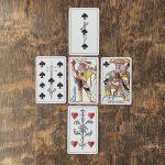 Playing Marseille Tarot 14