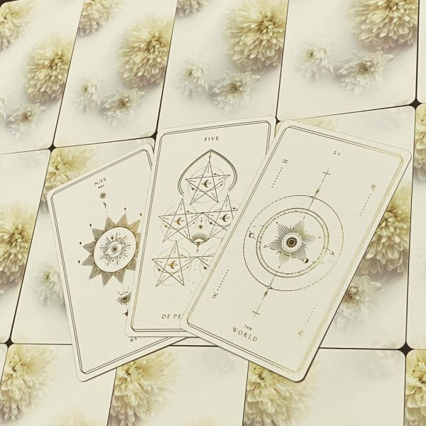 Soul Cards Tarot (White Dahlia) 9