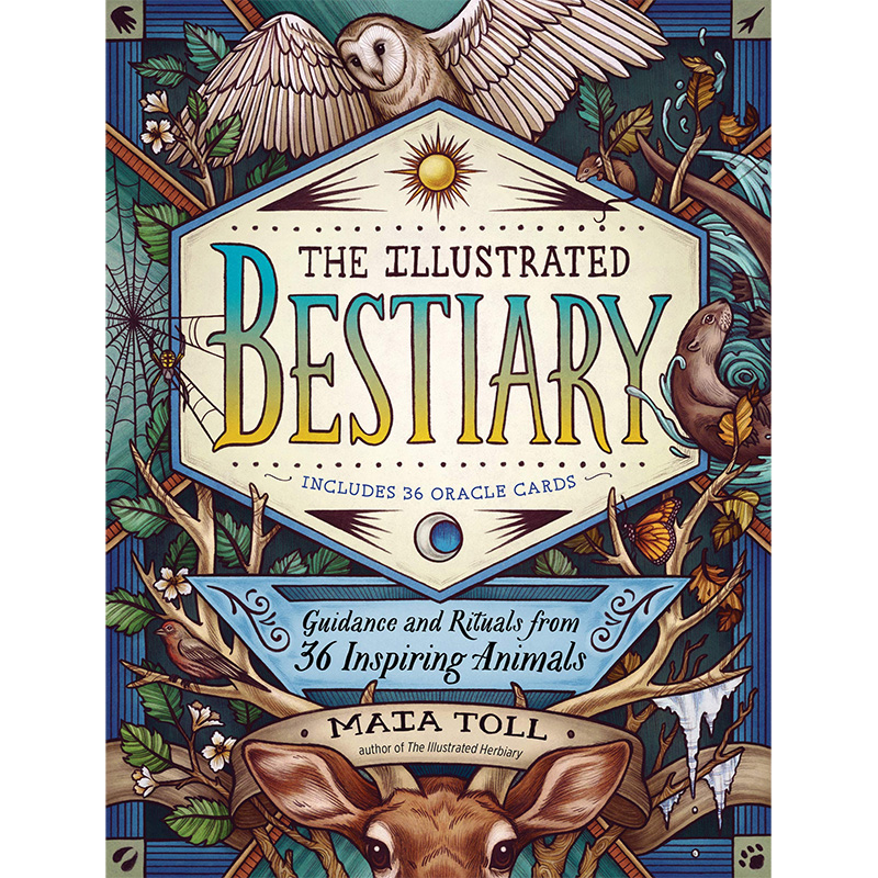 Illustrated Bestiary Oracle 3
