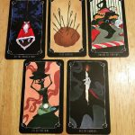 Nightmare Before Christmas Tarot 13