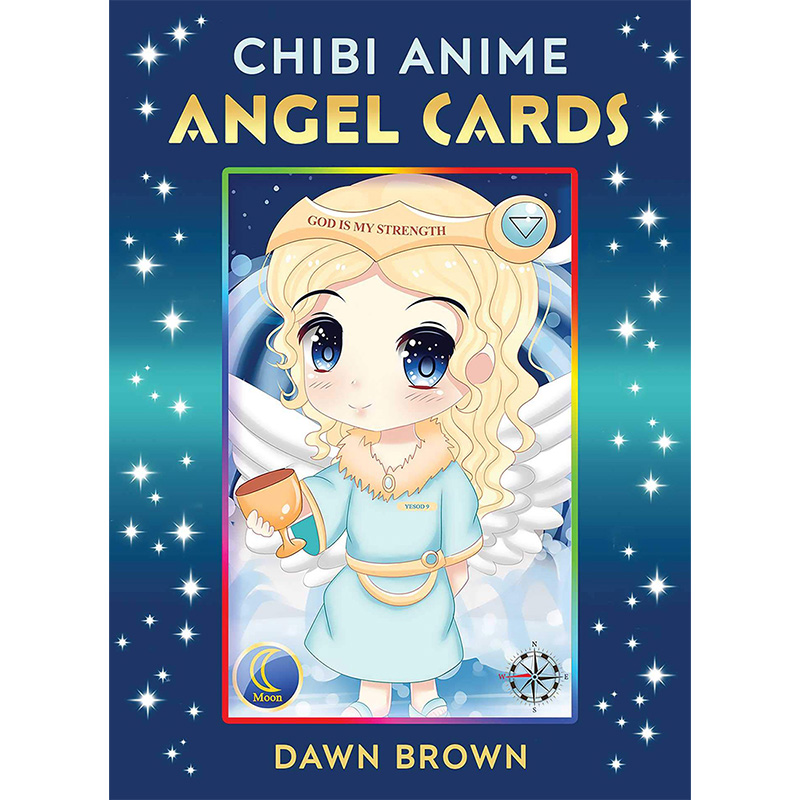 Chibi Anime Angel Cards 29