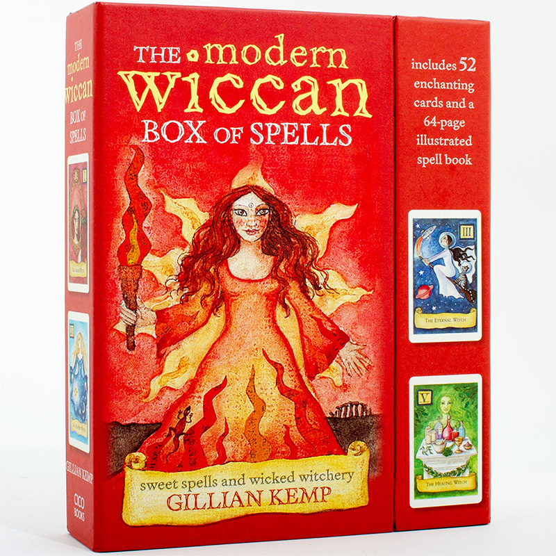 Modern Wiccan Box of Spells Deck 18