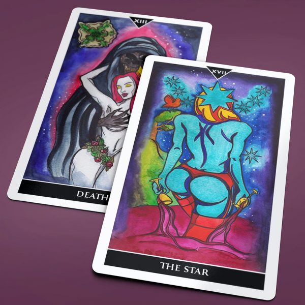 Earthly Delight Tarot 3