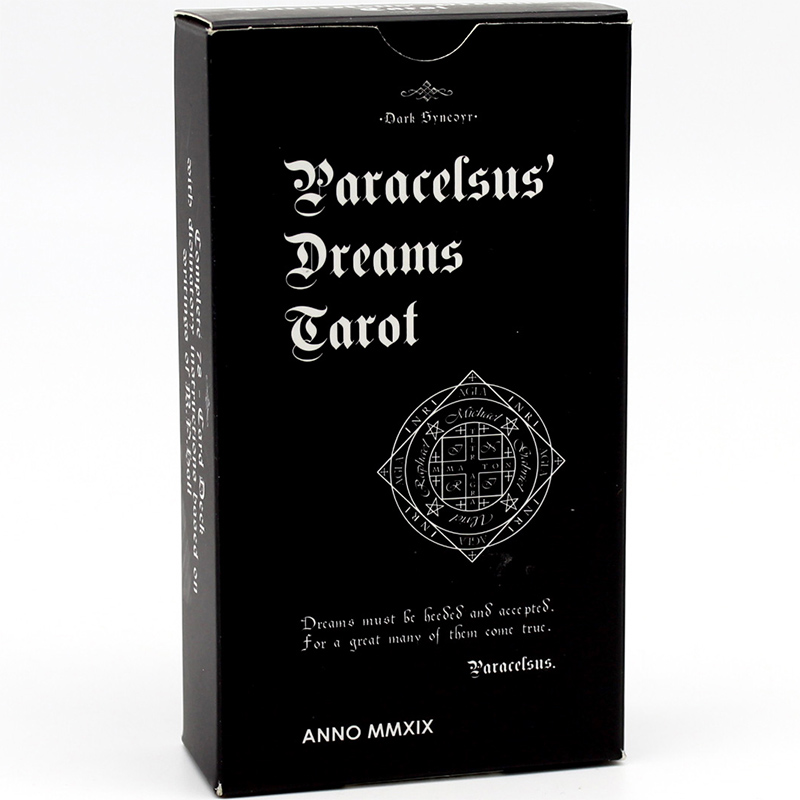 Paracelsus Dreams Tarot - Black Edition 25