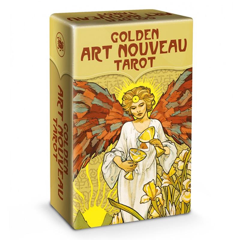 Golden Art Nouveau Tarot - Mini Edition 5