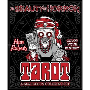 Beauty of Horror Tarot - Coloring Set 6