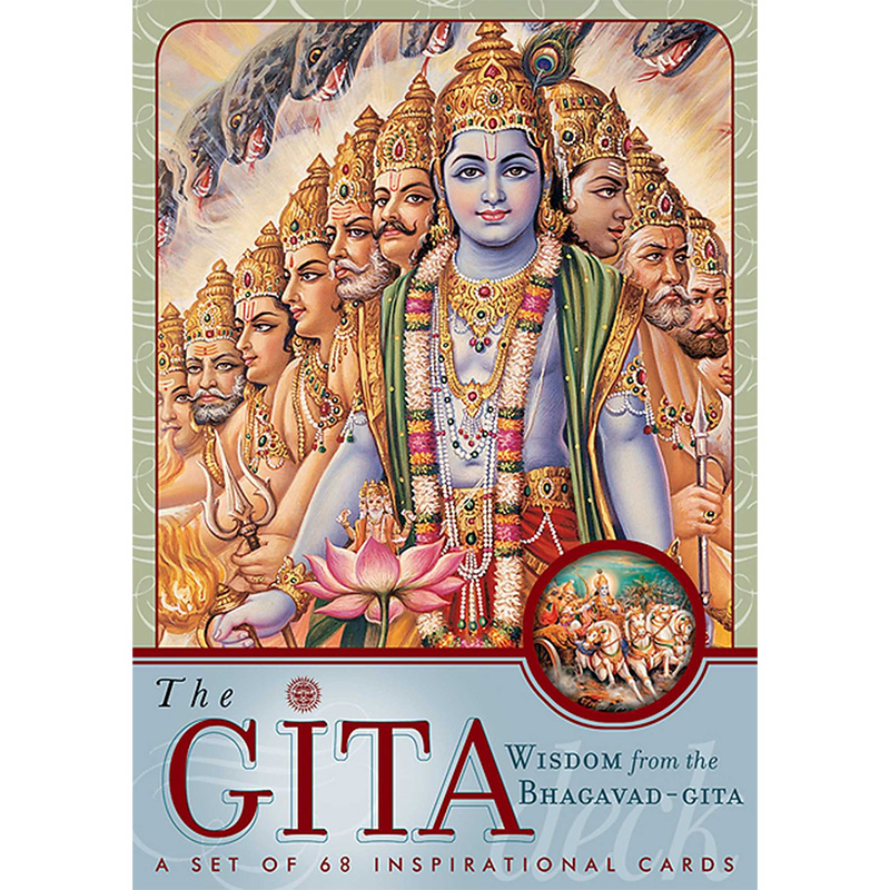 Gita Deck: Wisdom From the Bhagavad Gita Cards 7