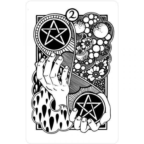 Heart and Hands Tarot 9