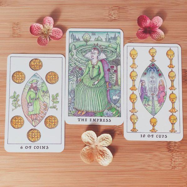 Rose Tarot 10