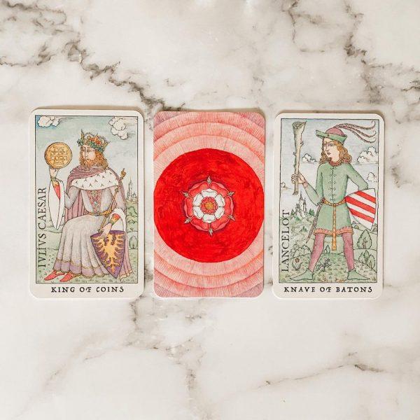 Rose Tarot 9