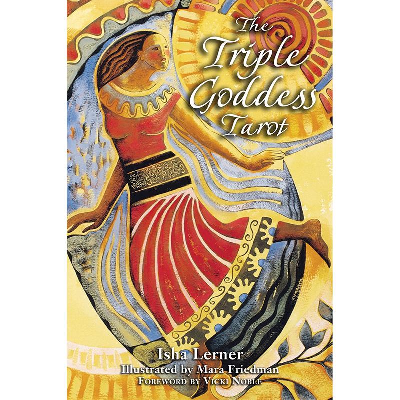 Triple Goddess Tarot by Isha Lerner 39