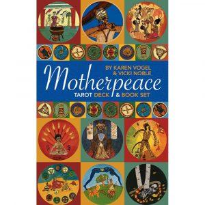 Motherpeace Mini Round Tarot Bookset 12